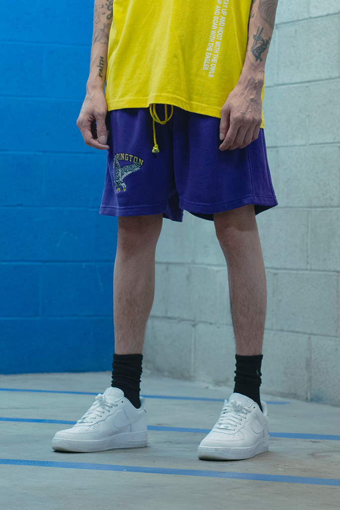 Vacation Sweatshorts (Purple)