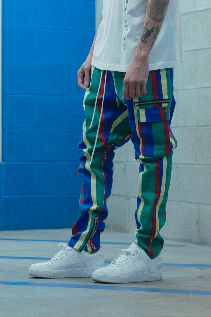 Vacation Collection Cargo Pants (Rodeo)