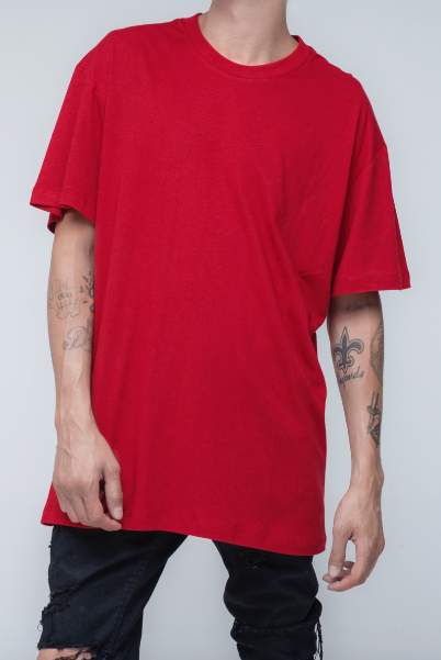 trendy, stylish t-shirt in red color - Alpha - Chili Pepper Standard T Shirt