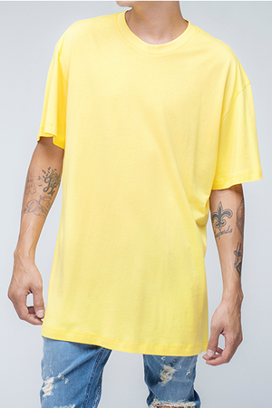 trendy and stylish t-shirt in yellow color - Alpha - yellow Standard T Shirt