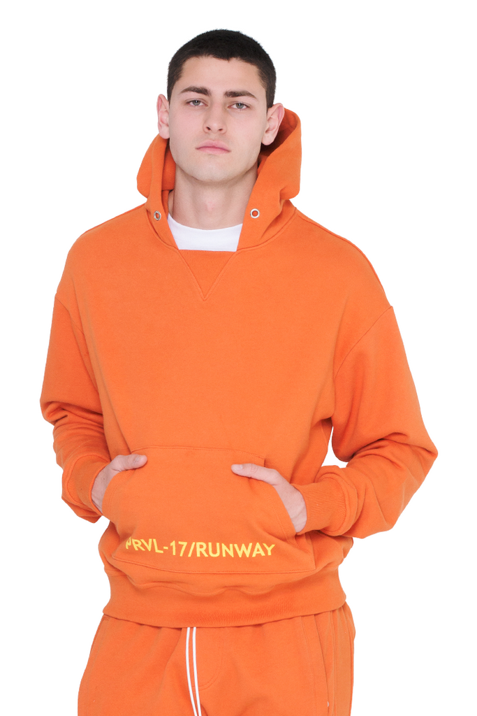 Men's Sweatshirt (Orange)