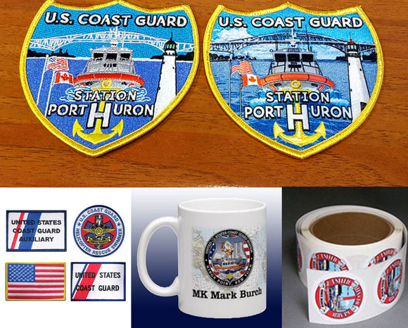 Patches - Decals - Mugs