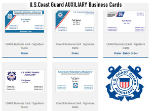 Business Cards (Auxiliary)