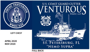 USCGC Venturous - Apparel Order April 2021
