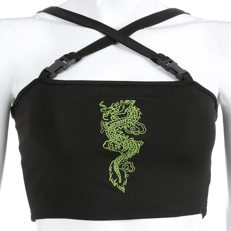 Dragon Buckle Top