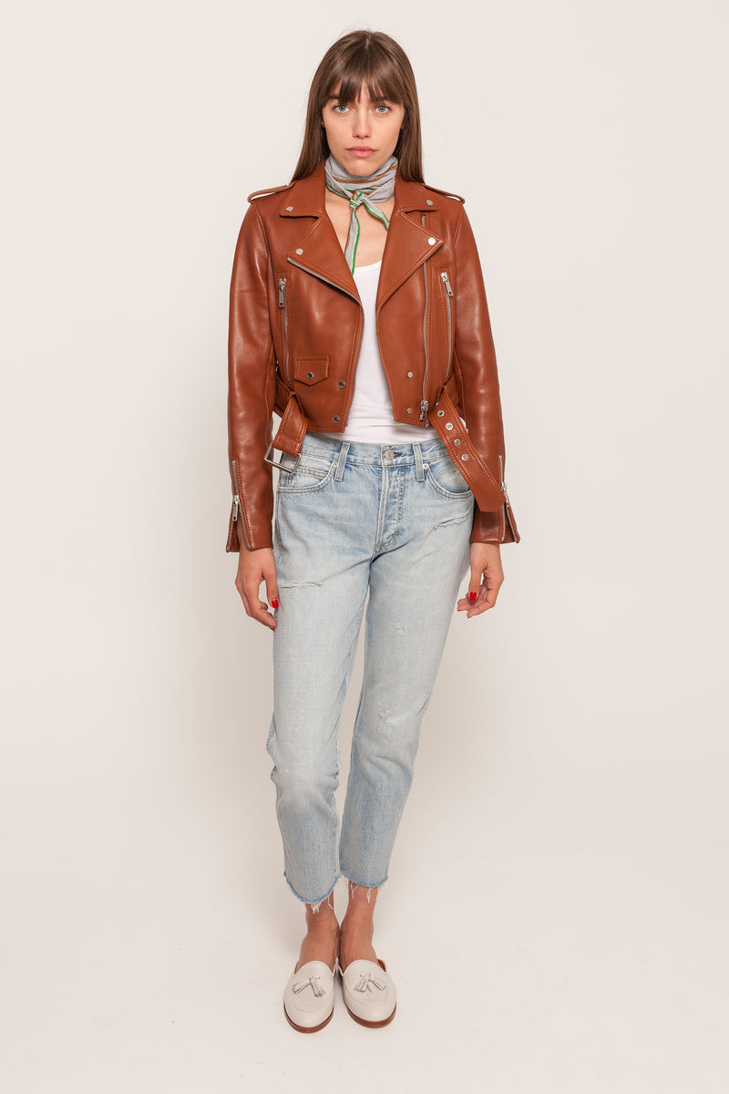 MYA LEATHER JACKET
