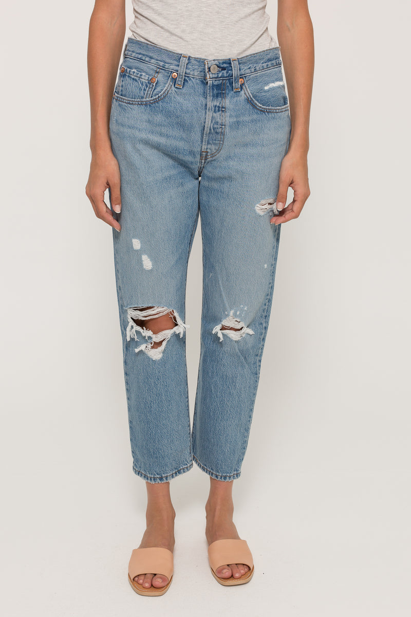 501 CROPPED JEANS