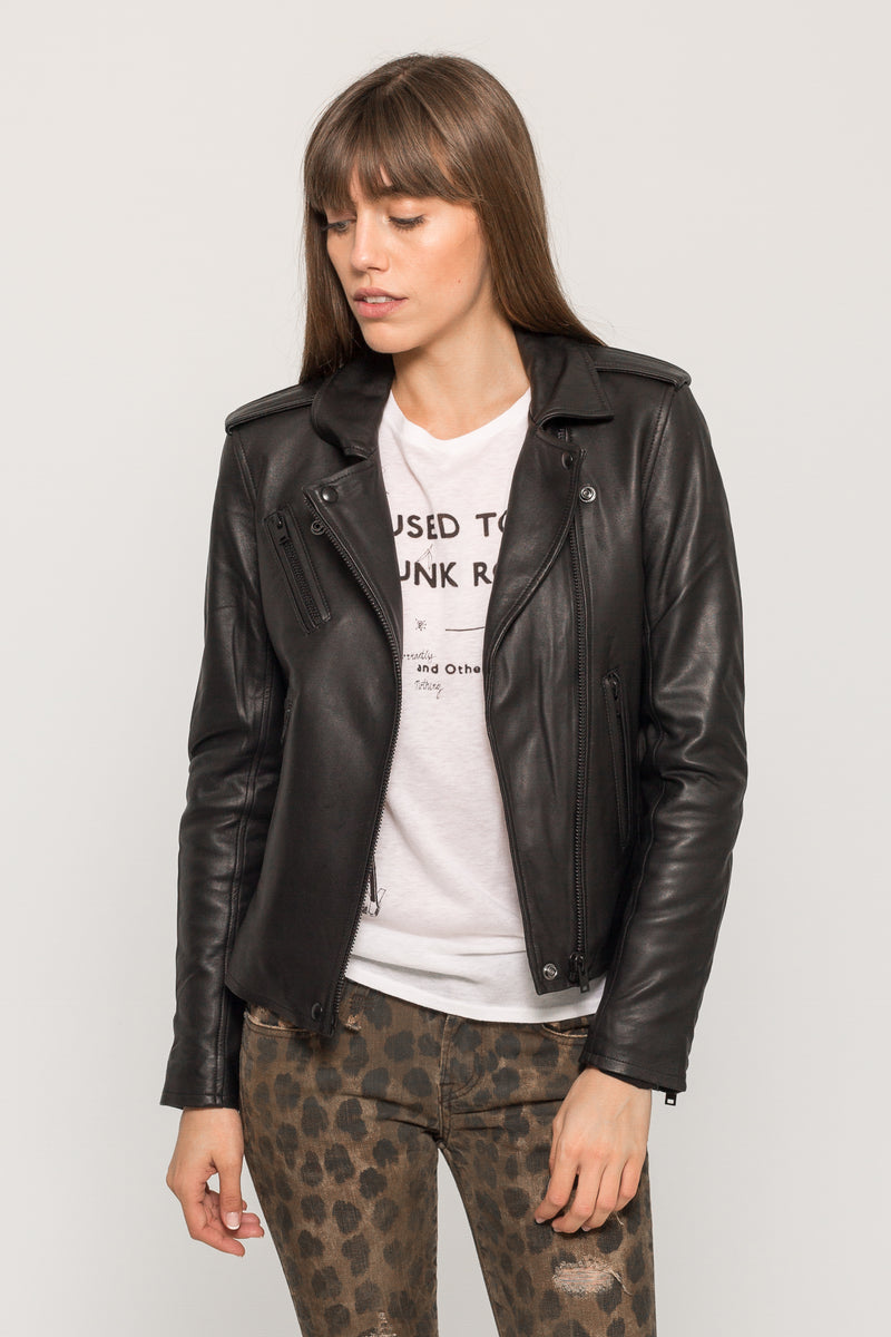 NEWHAN LEATHER JACKET