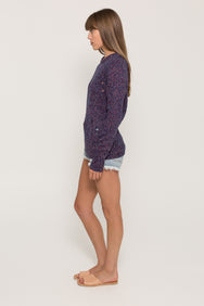 VINTAGE CABLE KNIT CREW NECK