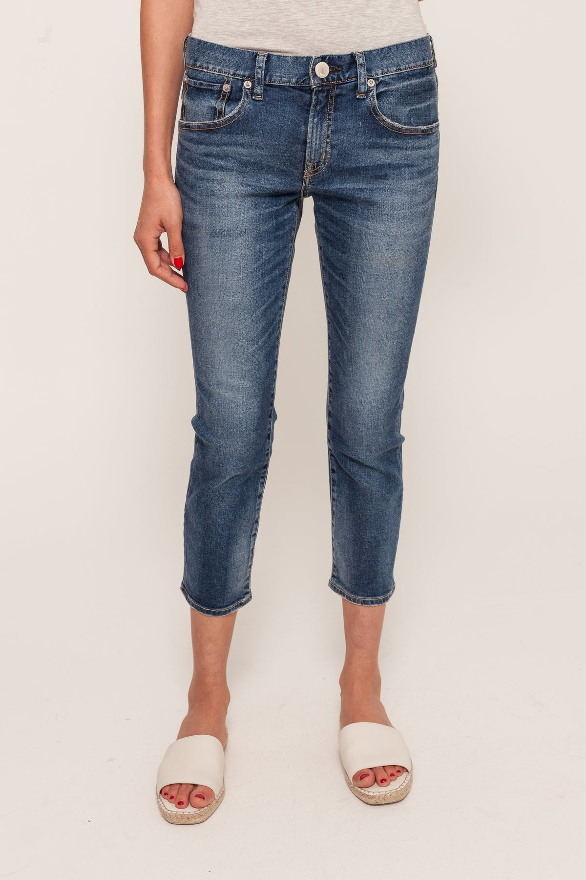 25th Anniversary Cropped Jeans