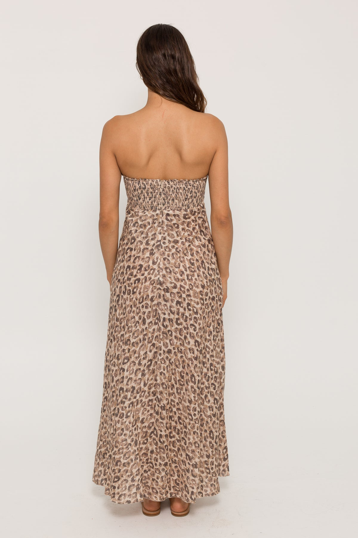 MELODY STRAPLESS DRESS