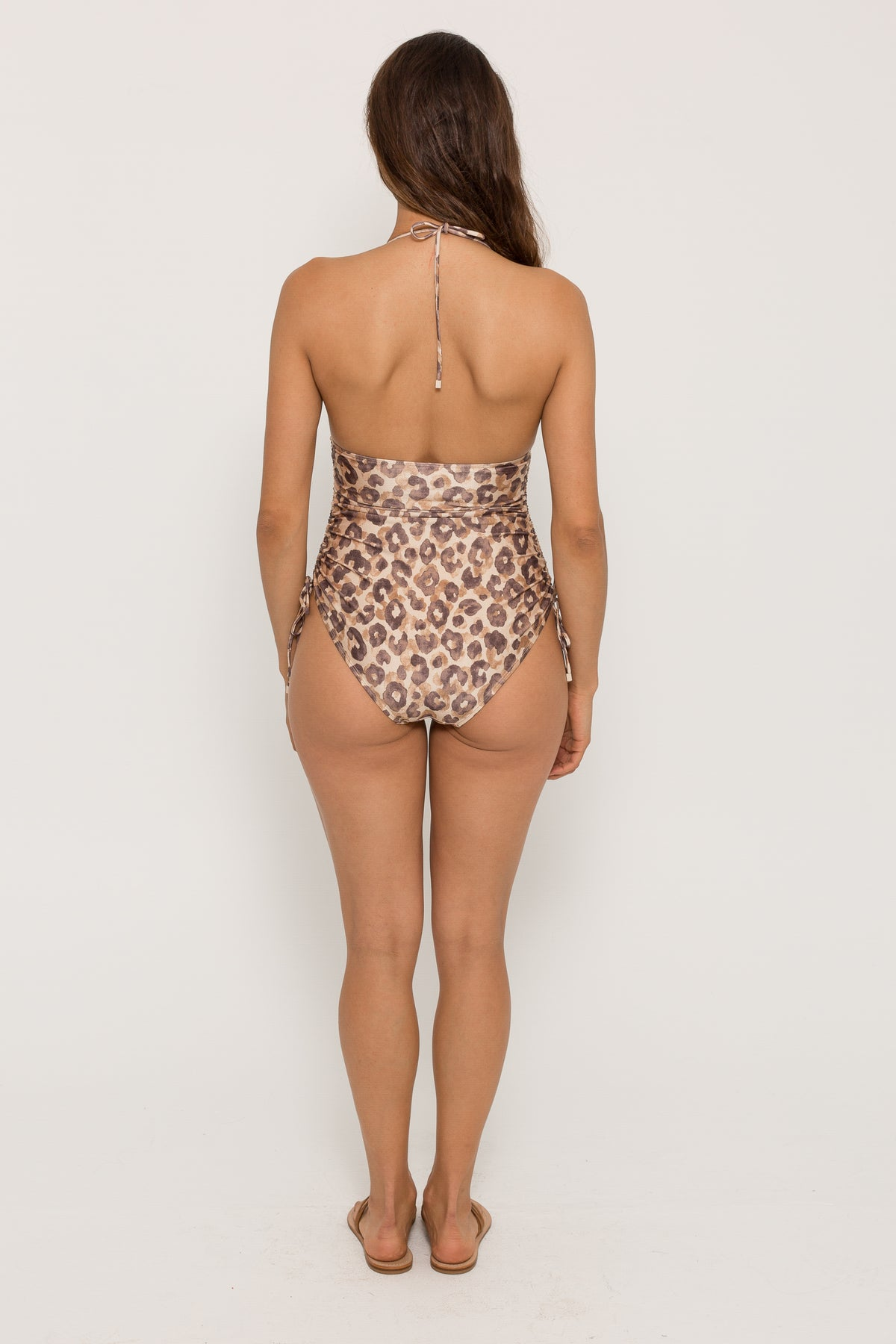 MELODY RUCHED SIDE ONE PIECE