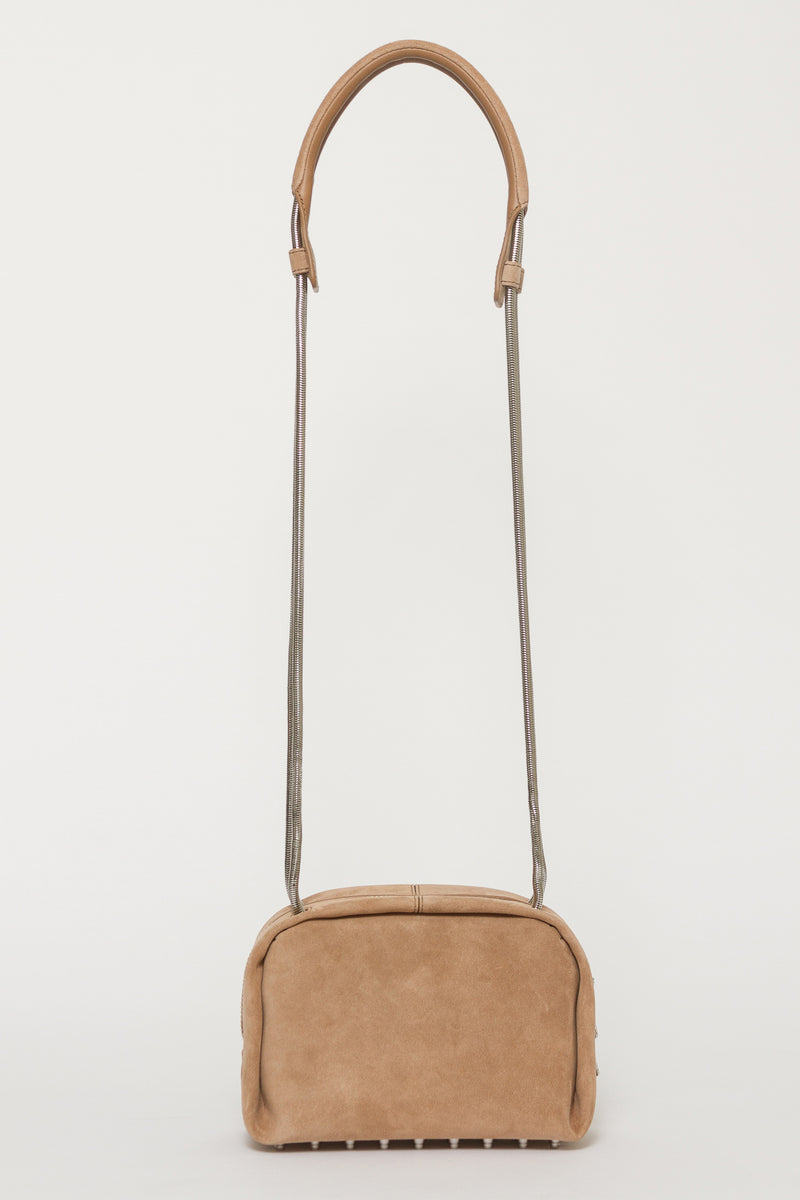 DUMBO SUEDE CROSS BODY BAG