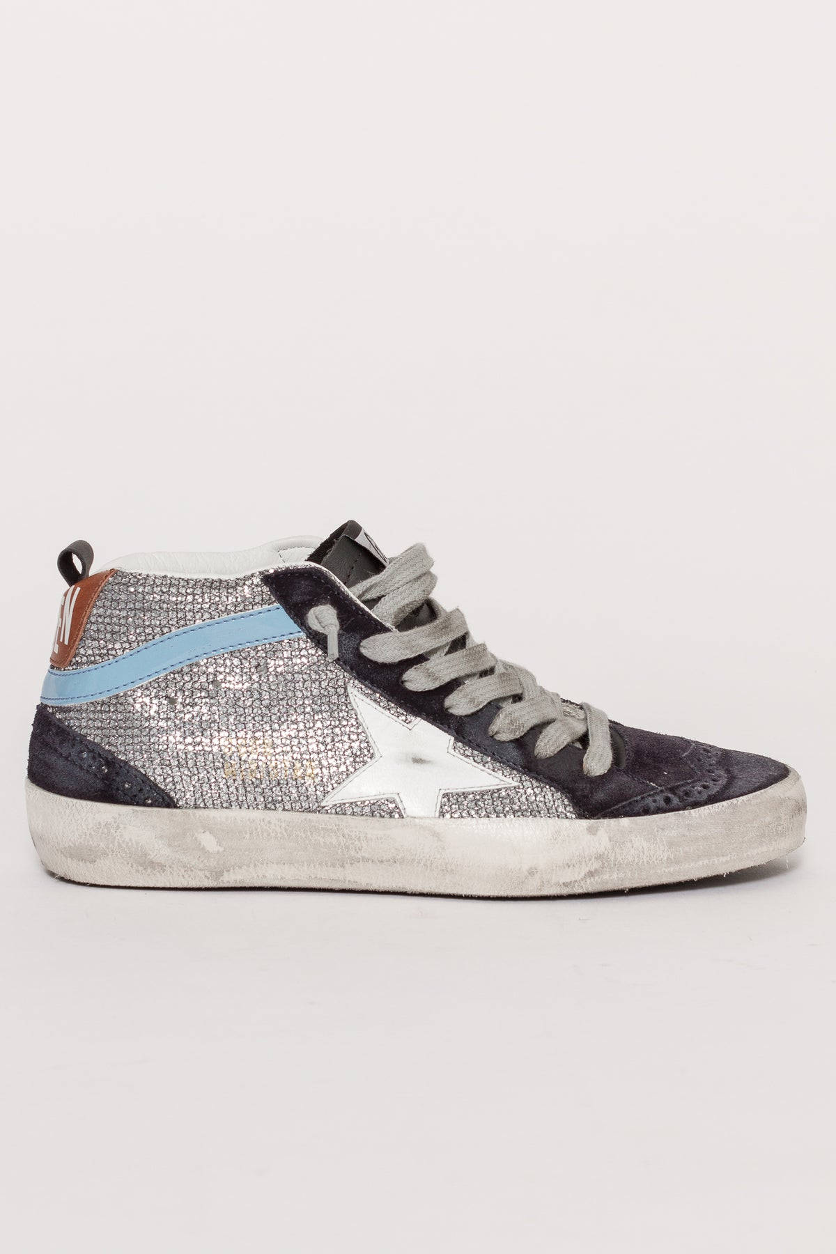 GLITTER MID STAR SNEAKERS