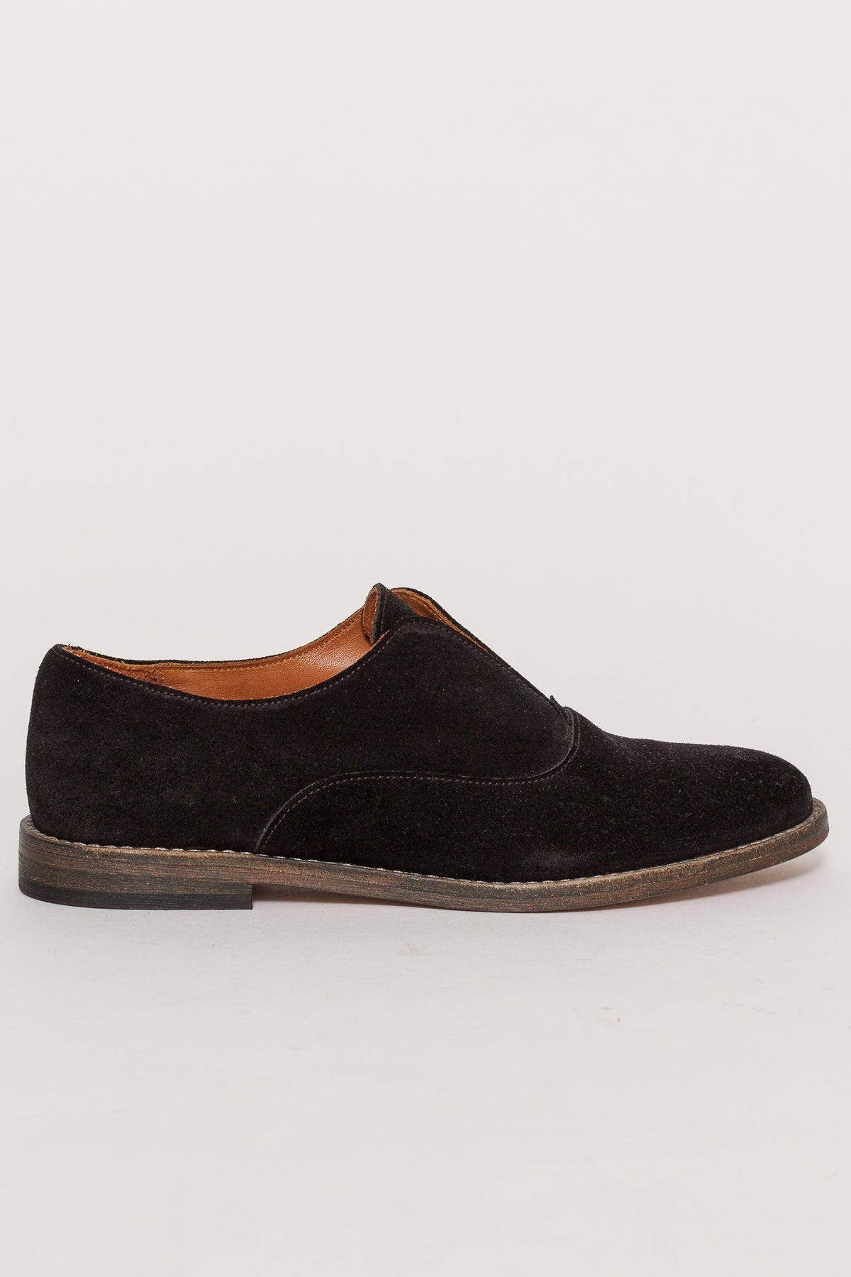ELVIE SUEDE OXFORDS