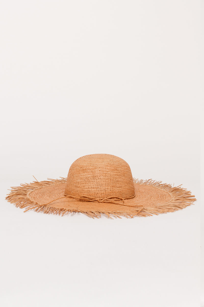 FRAYED SUN HAT