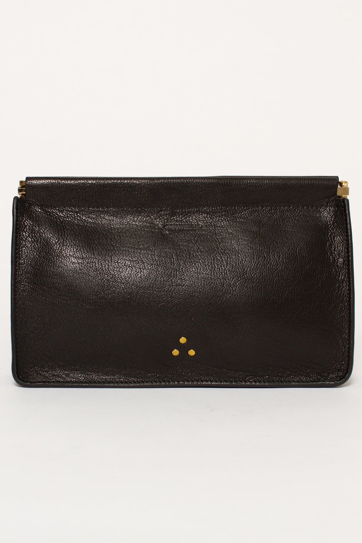 POP CLIC CLAC NOIR CLUTCH