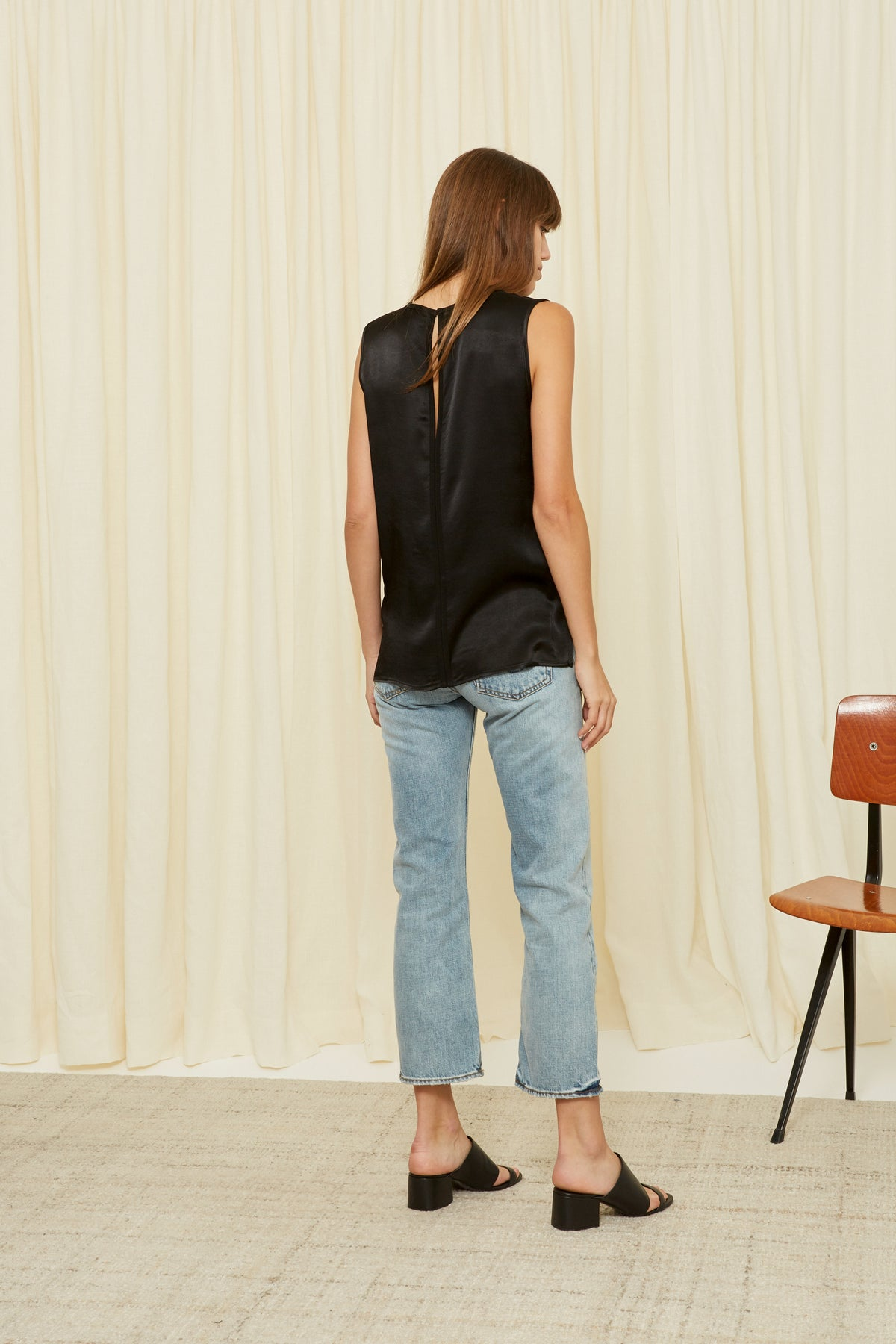 BLACK EDITH TOP