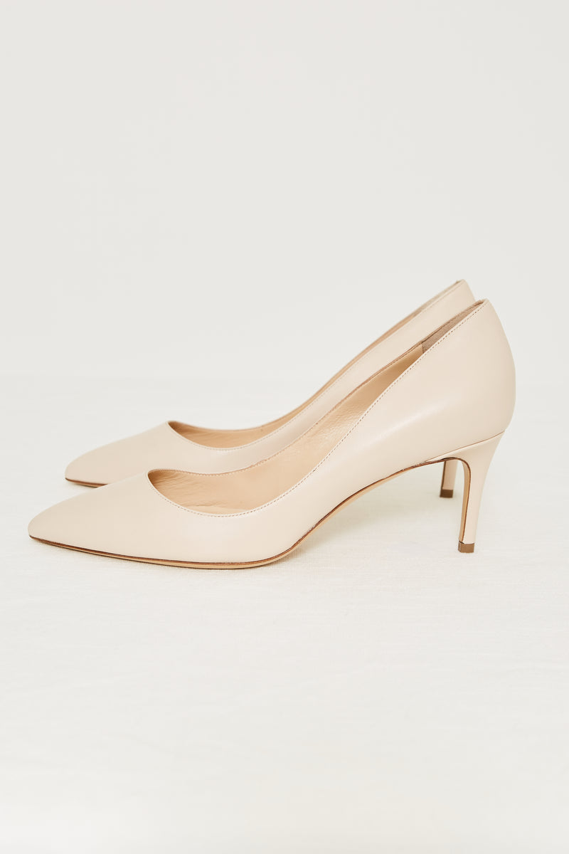 LEATHER 70 PUMP