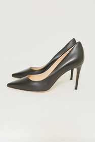 LEATHER 90 PUMP