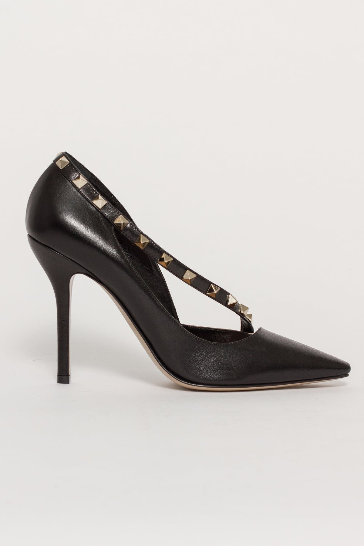 TWO TONE D'ORSAY HEEL