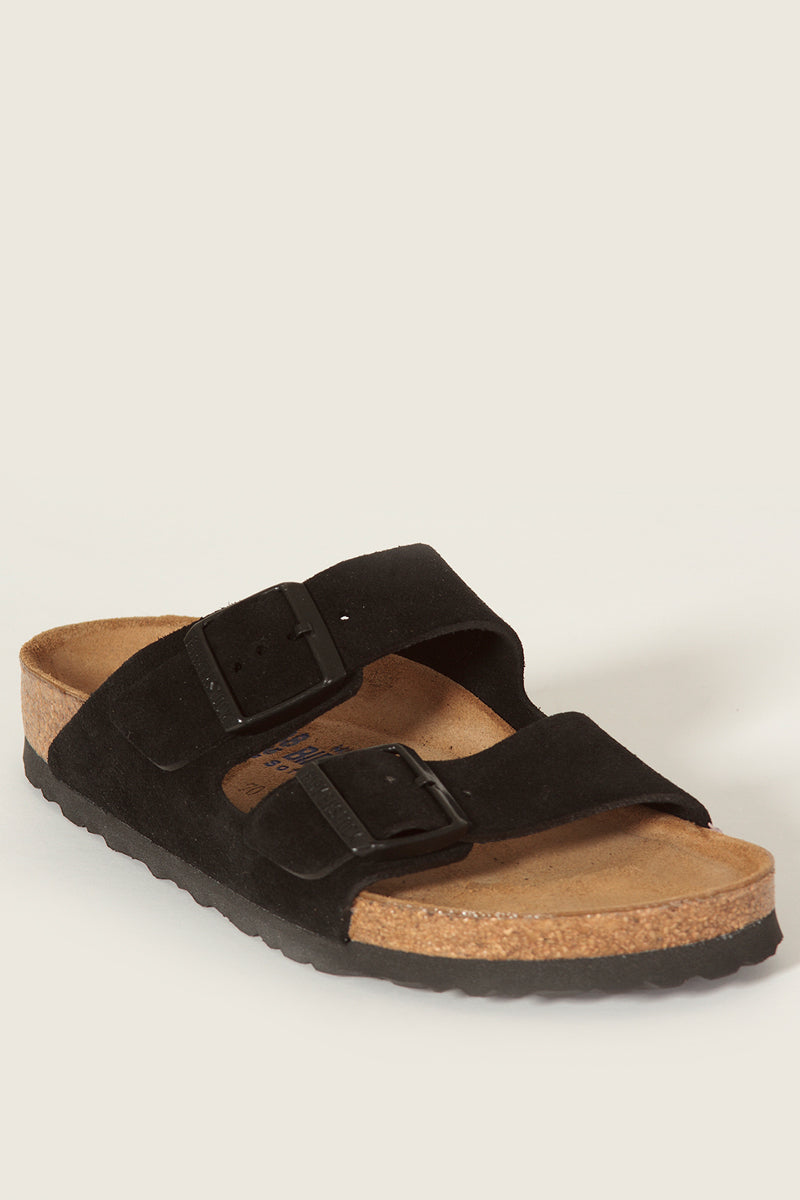 BIRKENSTOCKArizona Black Suede Sandals22627