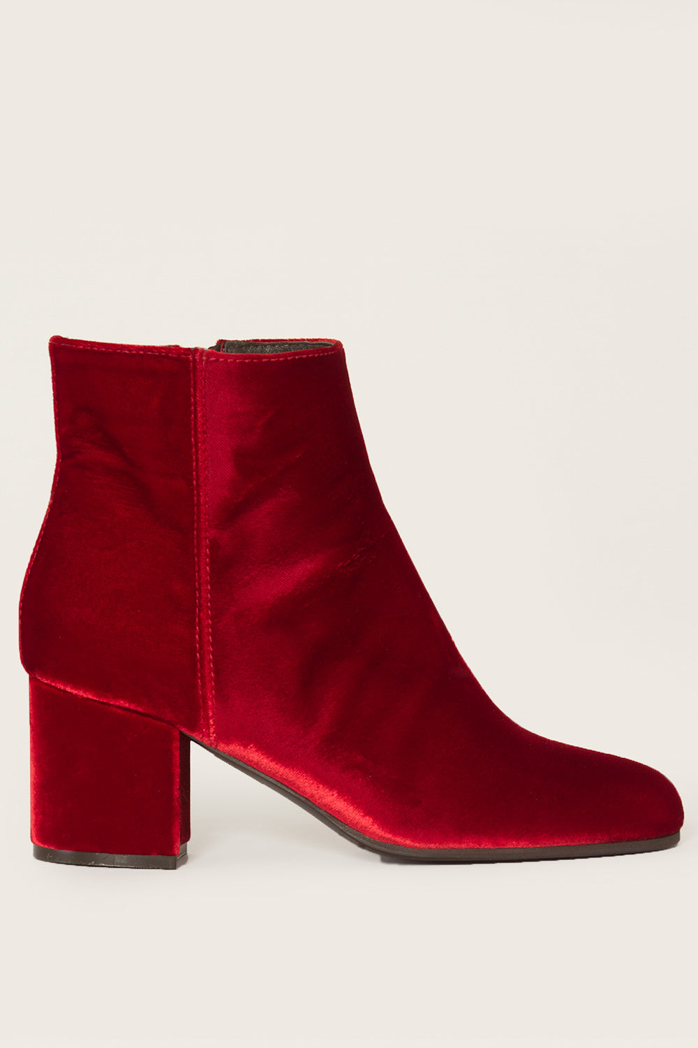 MADISON ET CIEMIA VELVET BOOTIES27523
