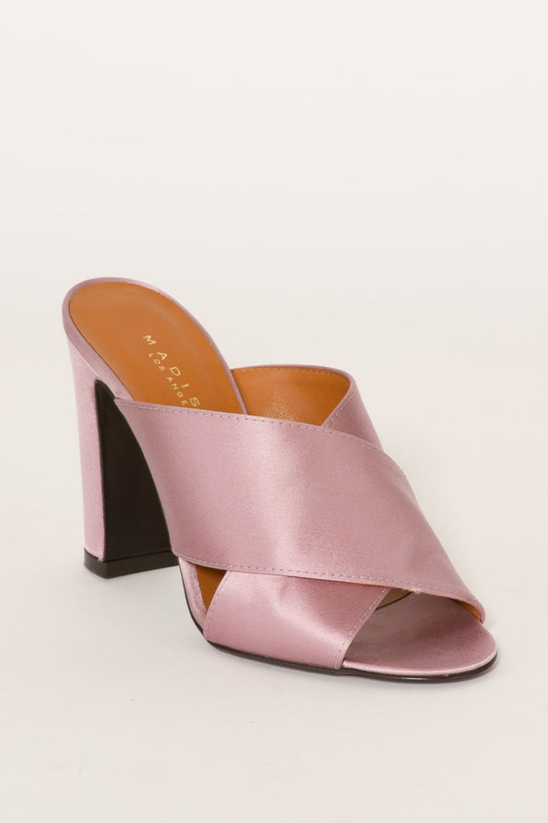 MADISON ET CIECINDY SATIN MULES9143
