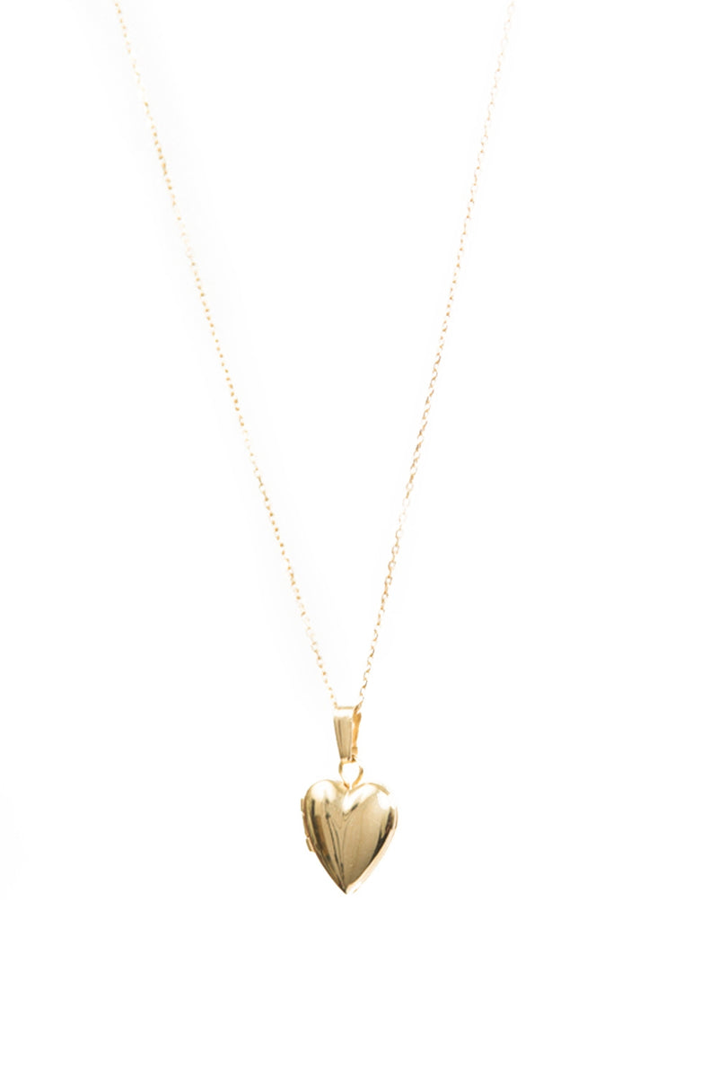 SASHA SAMUELMini Heart Locket Necklace5954