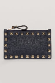 ROCKSTUD COIN PURSE & CARD CASE