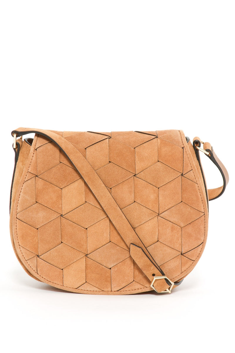 Escapade Suede Saddle Bag