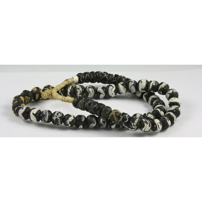 Black and White Venetian Beads, African Trade