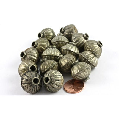 Vintage Silver Kuchi Tribal Beads, Afghanistan