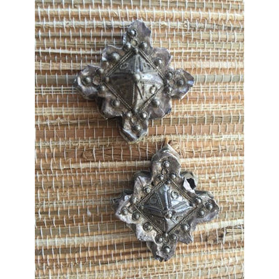 Lovely Nomadic Mauritanian Silver Southern Cross Pendant -P701