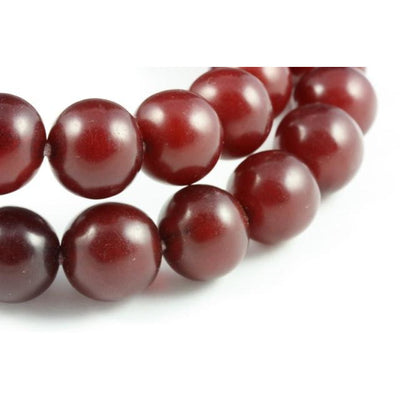 Faux Red Wine Amber Beads, Matched Rounds, Africa