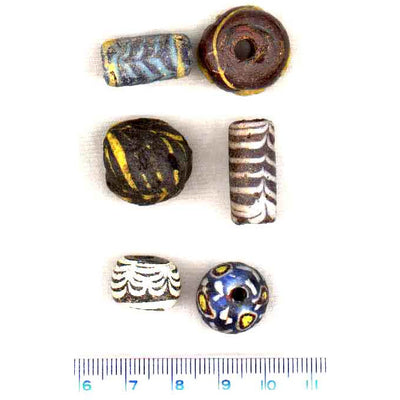 Early Islamic Beads from Syrian Collector