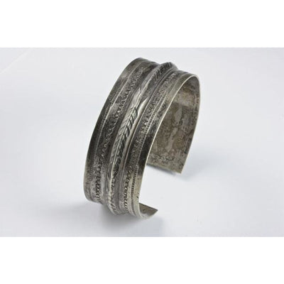 Bedouin Silver Bracelet, Antique, Egypt