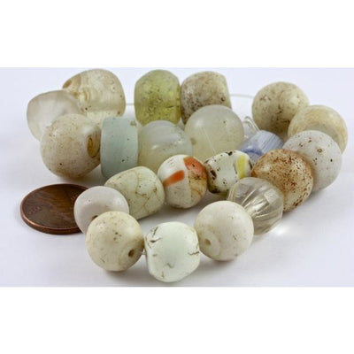 Mixed Ancient and Antique Glass and Stone Beads