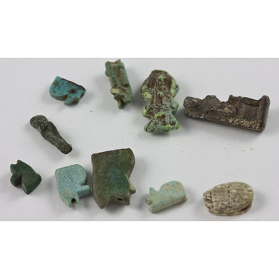 Egyptian Faience and Stone Amulets, Ancient