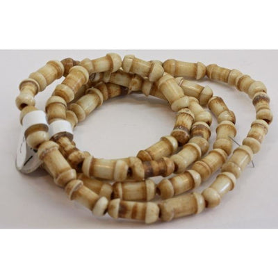 Matched Carved Bone Beads, Africa, Old - AT1556