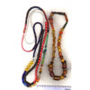 Left 2 strands, mixed beads