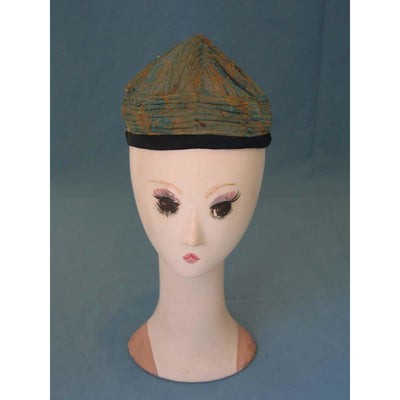 Nomadic Afghani Silk Hat - Rita Okrent Collection (AA054)
