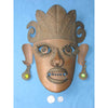 Sheet Metal Vintage Decorative Mask, Mexico