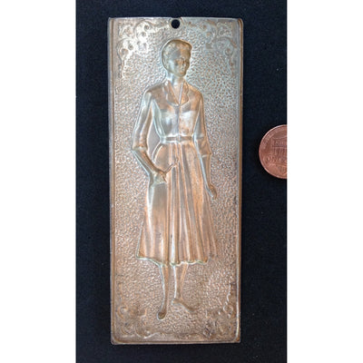 Ex-Votive Milagro Wall Pendant of Standing Woman, Italy - AA089