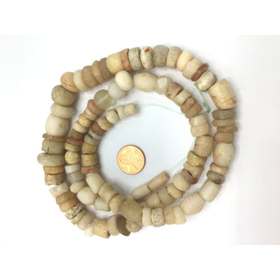 Mixed Ancient and Antique Stone Agate Beads, Varied Strands - Rita Okrent Collection (S410)