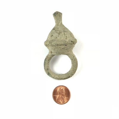 Rare Ancient Bronze Ring with Patina, from Guimbala Region of Mali - Rita Okrent Collection (BR050h)