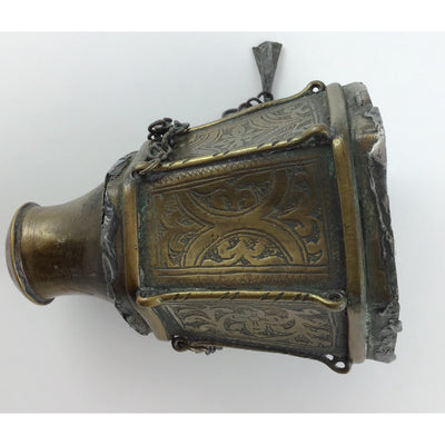 Old Brass Torah Finial - Rita Okrent Collection (J068)