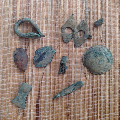 Group of Excavated Bronze and Metal Artifacts, Mali - AA303