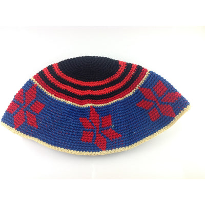Colorful Woven Afghani Hat - COL053