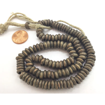 Handmade Brass Spacer Beads from the African Trade - Rita Okrent Collection (AT1465b)